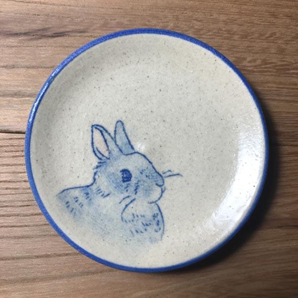 うさぎの小皿