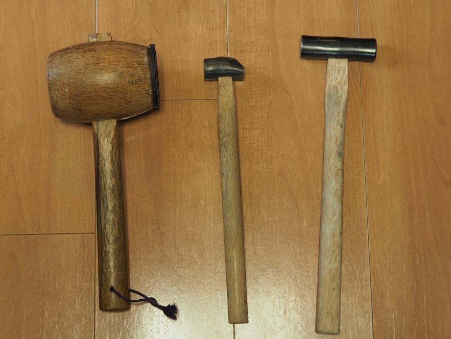 木槌、おたふく槌、金槌