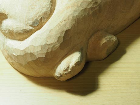 レイちゃんの手