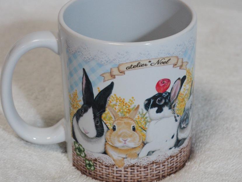 atelier*Noelのマグカップ