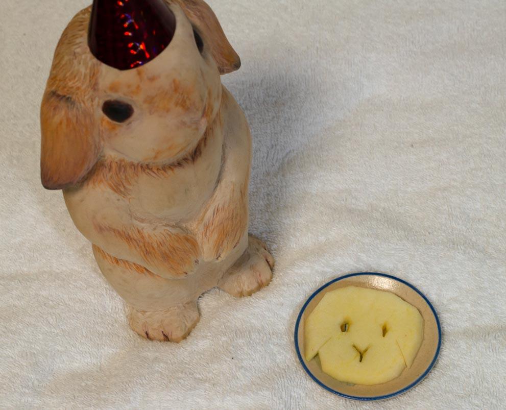 だんちゃんのりんご