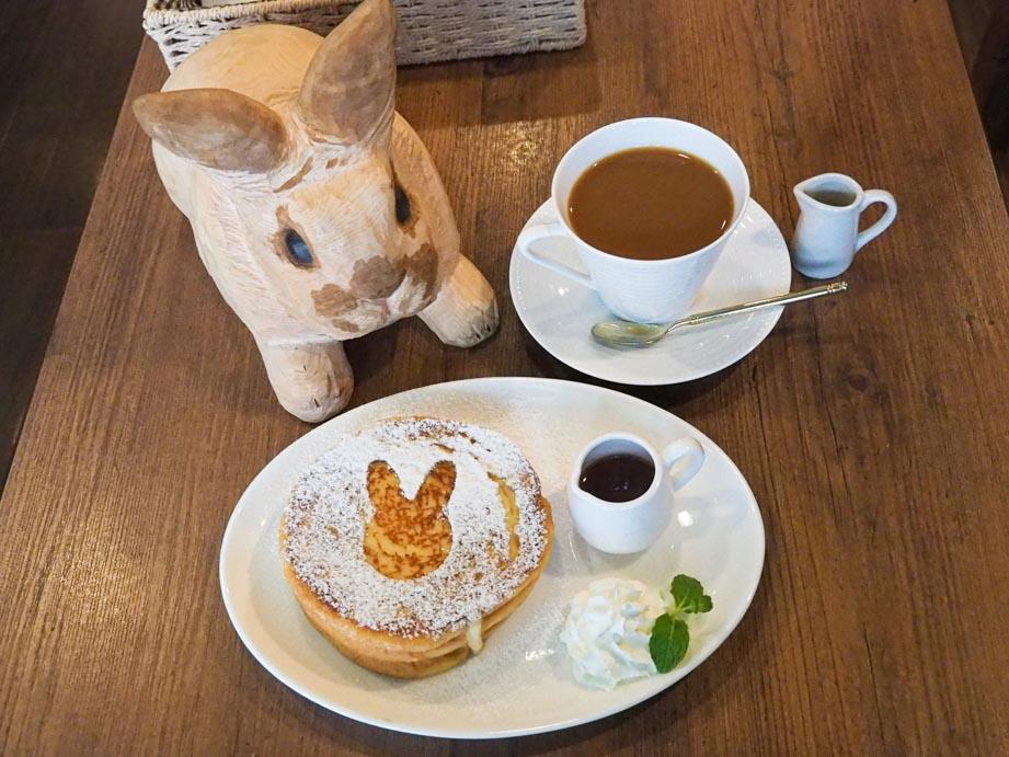 カフェ・ミニヨンさんのフレンチトースト