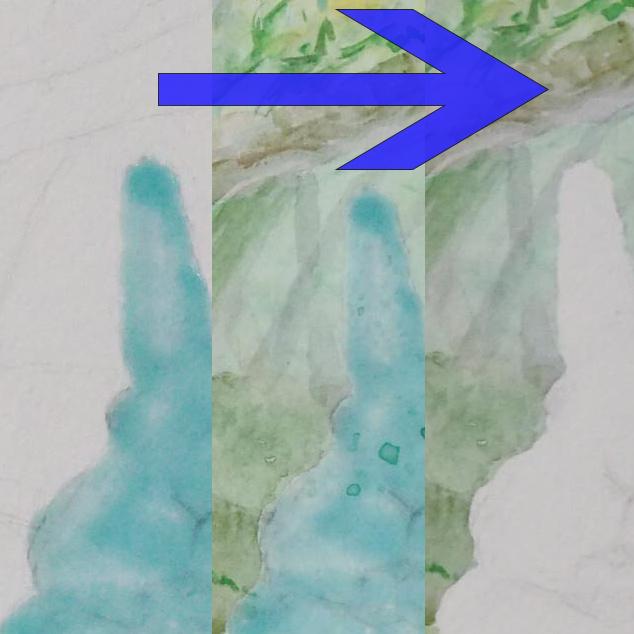 マスキングインクの使用例